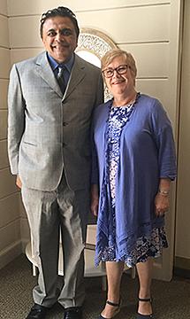 Pastor Philip George Visits